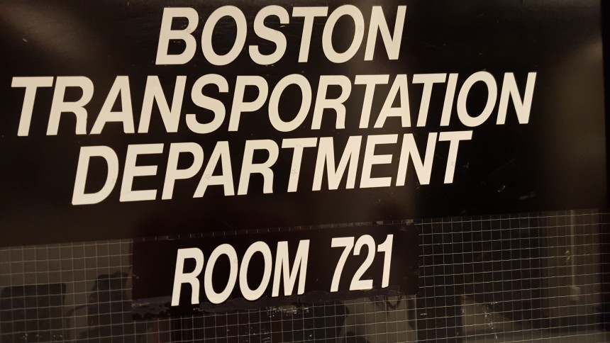 The BTD at Boston City Hall is your first stop when buying moving permits.