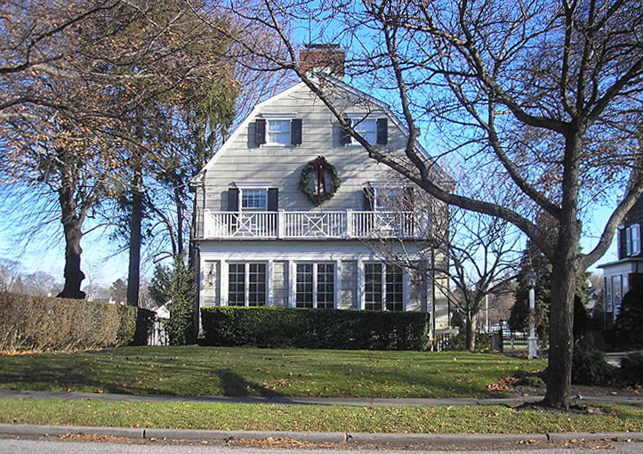 "The house on which 1979's ""Amityville Horror"" was based"