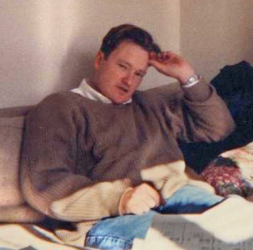 "Conan O'Brien in ""The Simpsons"" writing offices in 1992"