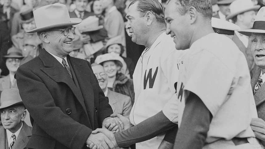 Harry S Truman - Opening Day, 1947
