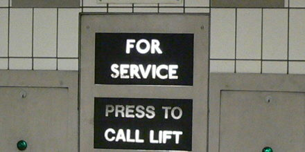 Elevators can speed up or slow down moves, depending on the circumstances.