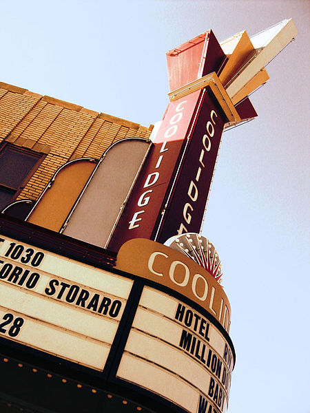 The Coolidge Corner Theater is one of the best movie houses in the Boston Area.