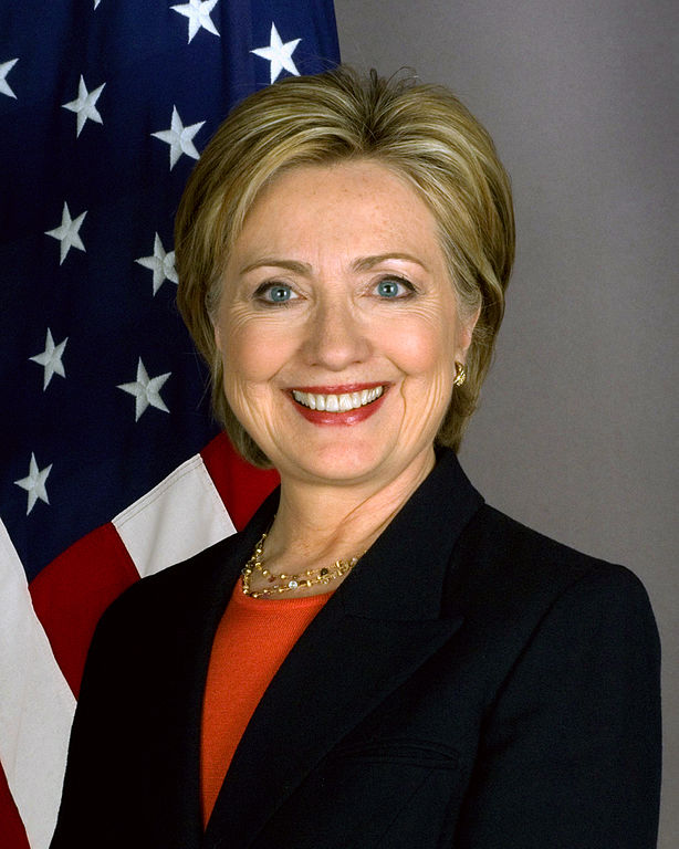 Hillary Clinton, graduate of Wellesley College
