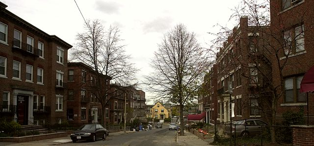Boston's Allston neighborhood is home to many students.