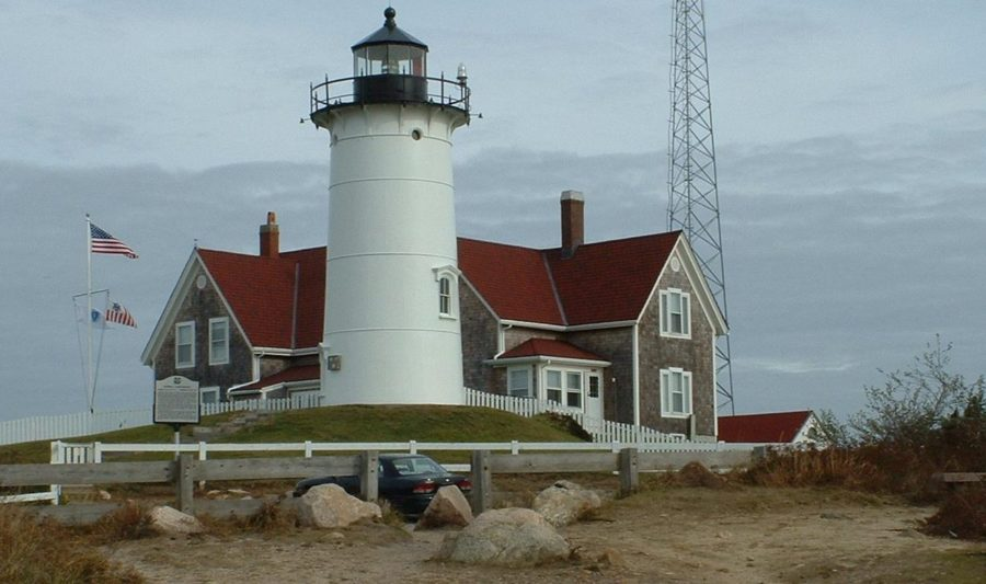 Nobska Lighthouse in Falmouth, MA