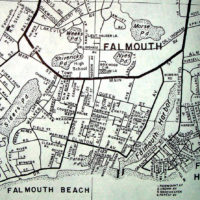 photo via flickr: davecito Falmouth MA (Nov 1964) Map by MAPCO.