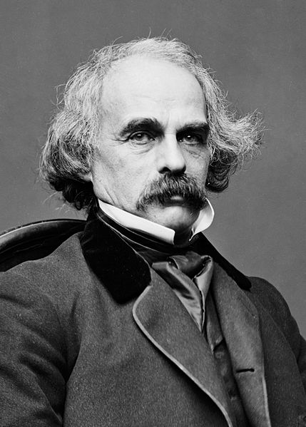 Nathaniel Hawthorne, one-time West Roxbury resident.