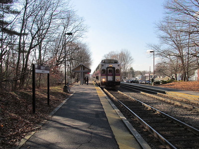 Dedham Movers - Endicott MBTA station, Dedham Massachusetts