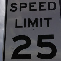The Boston Speed Limit is now 25