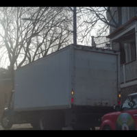 how to park a moving truck