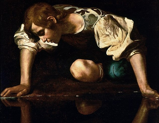 Narcissus would've fared better with a mirror.